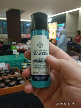 The Body Shop Seaweed overnight gel