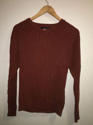 Burnt Orange Colored Sweater