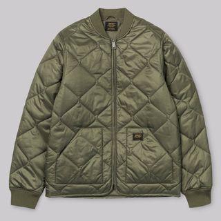 Carhartt WIP Newton Bomber Liner 鋪棉外套 軍綠 內裡 夾克 Jacket 軍裝