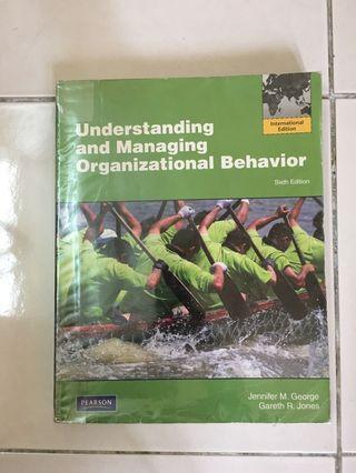 Understanding and Managing Organizational Behavior Textbook