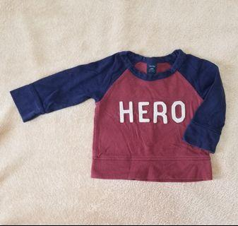 Baby Gap 12 to 18 months Long sleeves Tee shirt