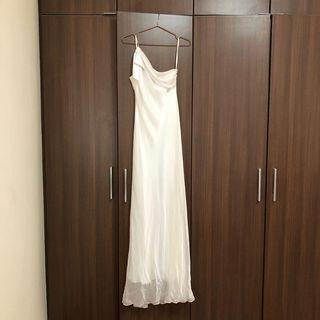 White Maxi Dress Arthur yen #EndgameYourExcess