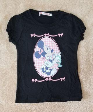 Uniqlo Girls Minnie Mouse 110cm T Shirt