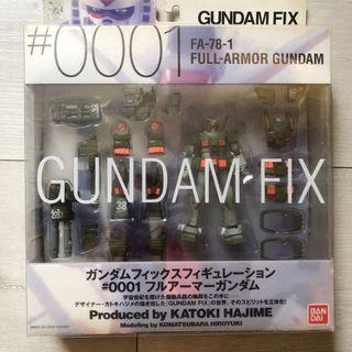 Gundam Fix Figuration #0001 FA-78-1 Full Armor Gundam