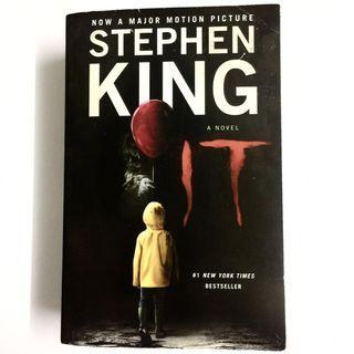 It by Stephen King (thriller mystery suspense horror novel book)