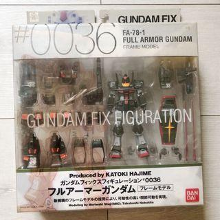 Gundam Fix Figuration #0036 FA-78-1 Full Armor Gundam [Frame Model]