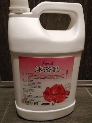 玫瑰沐浴乳4000mL