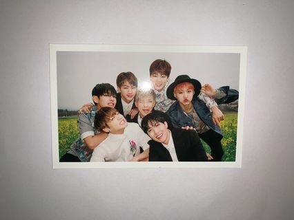 BTS Official HYYH Pt. 1 Group Photocard