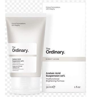 The Ordinary Azelaic Acid Suspension 10% 30ml - Multifunctional Brightening Formula