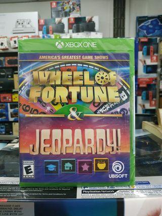 🆕 Xbox One Wheel of Fortune & Jeopardy !