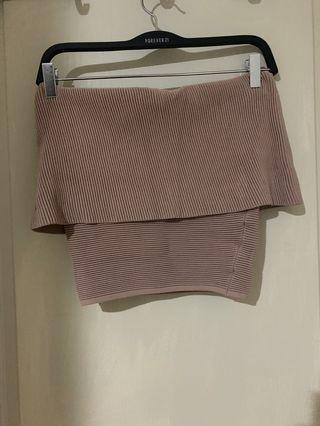 Sheike bandeau knit top
