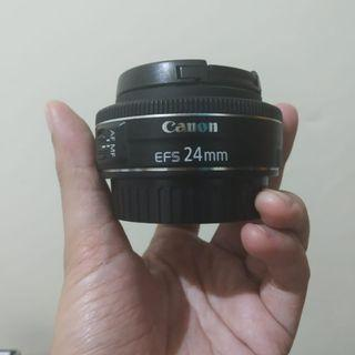 Lensa Canon EFS 24 mm f 2.8