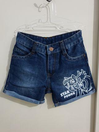 Celana jeans pendek little ponny like new