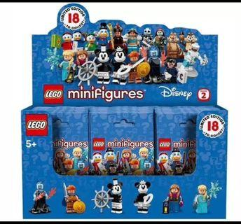(ON HAND IN7DAYS)Lego 71024 Disney Minifigures series 2 box of 60