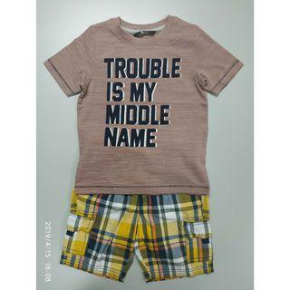 George 304251男童T恤+短褲