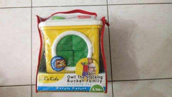 K's Kids: Owl! The Stacking Bucket Family