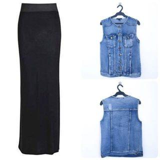 BUY1TAKE1 Vest & Skirt