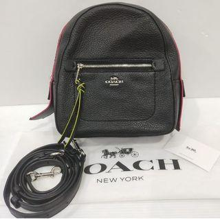 TWO WAY COACH HANDBAG & SLING