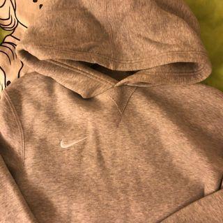 Cropper Nike Grey Hoodie