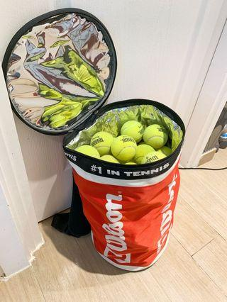 網球連Wilson網球袋