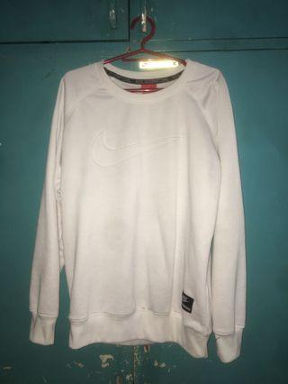 Nike White Sweater