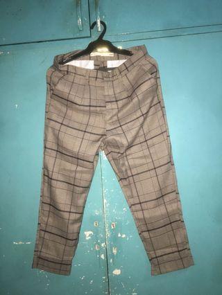 SM YOUTH Plaid Pants