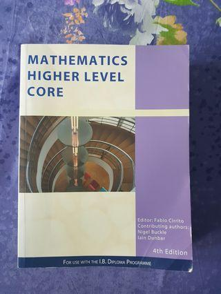 🚚 Mathematics Higher Level core IBDP