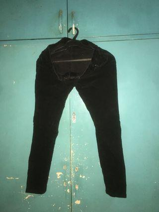 Corduroy Black Pants