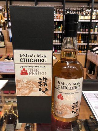 現貨 Ichiro's Malt Chichibu 'The Peated' Single Malt 2018 Japanese Whisky Ichiro 日本 威士忌 whiskey 秩父