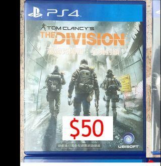PS4 GAME-The Divison