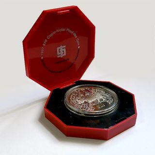 10 SGD Coin ( Cow Year )