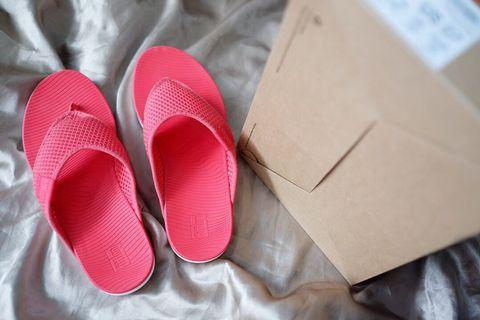 Fitflop Airmesh Passion Red Sandals