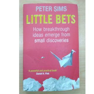 Books - Little Bets by Peter Sims