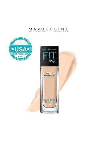 Maybelline Fit Me Poreless Matte Foundation in Classic Ivory