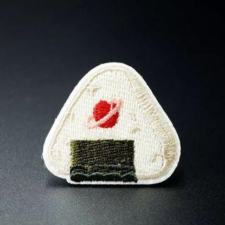 #818 japan food sushi tumblr iron on patch | po