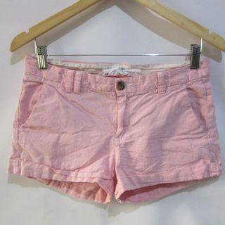 (30) LOGG by H&M low rise stripes linen shorts, super nice in actual, almost looks new,