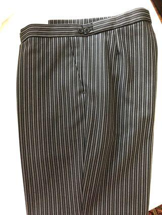 🚚 Formal morning suit trousers