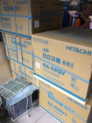 🚚 日立變頻窗型冷氣22-68qv安裝特賣價含標準安裝 洽