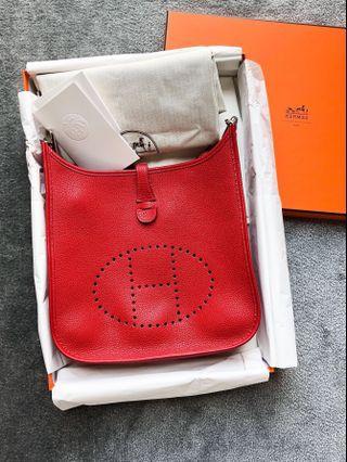 🚚 Hermes Evelyne III PM 29 with Amazon strap (rare)
