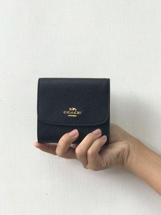 NEW Coach Simple Classic Black Wallet