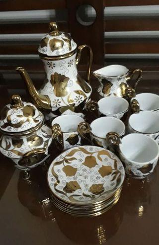 1 set cangkir teko, coffe set