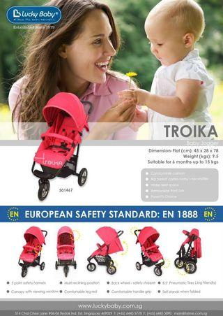 Lucky Baby Baby Stroller Troika