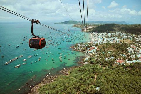 2x Phu quoc cable car return ticket