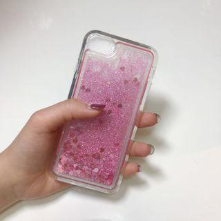 i7/i8 粉色亮片流沙