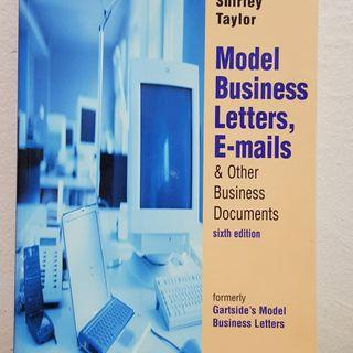 Model Business Letters, E-Mails, & Other Business Documents 6th Edition