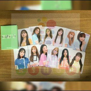 [SHARE] IZ*ONE / izone official pop up store photocards pcs