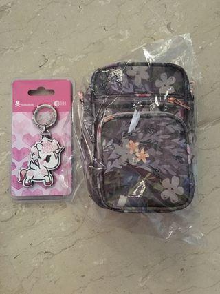BN Hanako Ez-Link Charm ♡ BNWT Sakura Dust Mini Helix