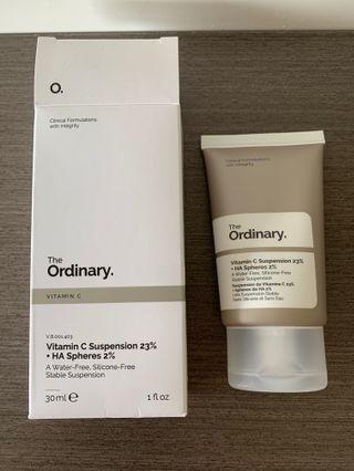 The Ordinary Vitamin C suspension Cream