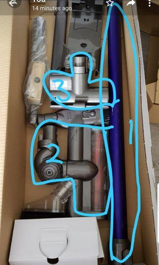 🚚 Dyson Vacuum Cleaner parts v6