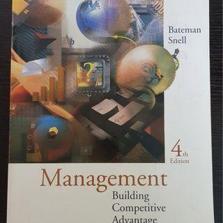 Management Building Competitive Advantage